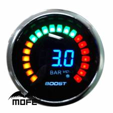 Μπαρόμετρο KET GAUGE 52mm 20 LCD 3 bar Turbo Boost