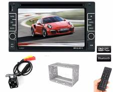 "Οθόνη Αφής LCD 2 DIN 6,2"" Dvd/Cd Bluetooth MCX-6211"